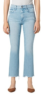 Joe's Jeans Callie Cropped Bootcut Jeans in Sunny