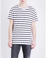 Levi's Line 8 Stripe-print Cotton-jersey T-shirt