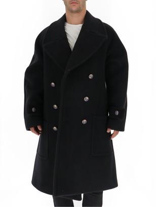 Givenchy Double Breasted Oversized Coat