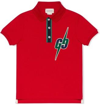 Gucci Kids GG Blade polo shirt