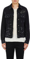 Ksubi Men's Classic Denim Jacket-BLACK