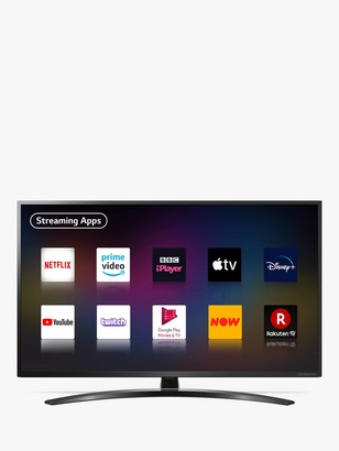 LG Electronics 50NANO796NE (2020) LED HDR NanoCell 4K Ultra HD Smart TV, 50 inch with Freeview HD/Freesat HD & Crescent Stand, Black