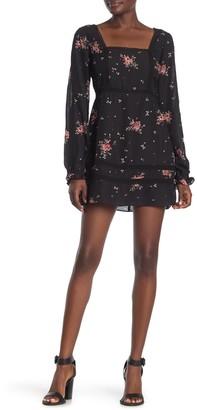 Show Me Your Mumu Helen Long Sleeve Floral Mini Dress