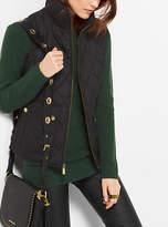 Michael Kors Quilted-Cotton Vest