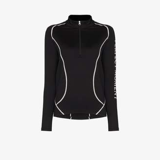 Perfect Moment thermal half zip logo performance top
