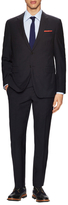 Valentino Wool Solid Notch Lapel Suit