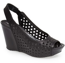 Kenneth Cole Reaction 'Soley Roller 3' Perforated Slingback Sandal