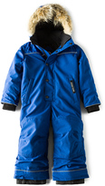 Canada Goose Grizzly Coyote Fur Trim Snowsuit