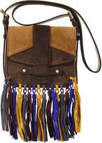 Vanessa Bruno Small Gemma crossbody in suede leather