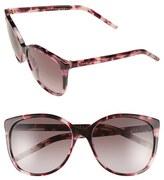 Marc Jacobs Women's 56Mm Butterfly Sunglasses - Havana