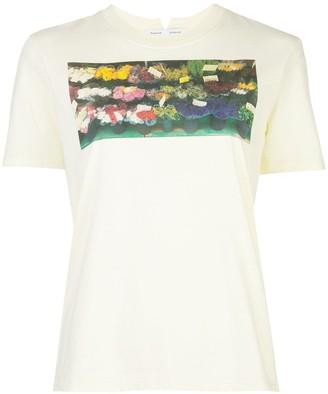 Proenza Schouler White Label photograph print T-shirt