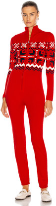 Perfect Moment Nordic Jumpsuit in Red | FWRD