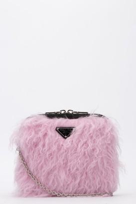 Prada Fur Clutch Bag
