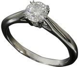 Harry Winston Platinum 0.53ct Diamond Solitaire Ring US Size 5.5 w/Box