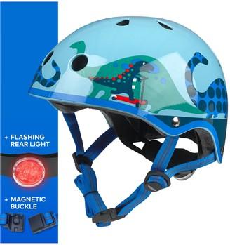Micro Scootersaurus Scooter Safety Helmet, Medium