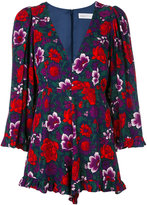 Alice McCall floral print playsuit - women - Polyester/Viscose - 34