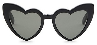 Saint Laurent 181 Lou Lou 54MM Heart-Shaped Sunglasses