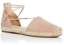 Eileen Fisher Women's Lace Strappy Espadrille Flats