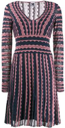M Missoni knitted midi dress