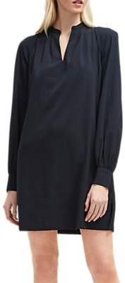 French Connection Mahi Crepe Tunic Dress, Utility Blue