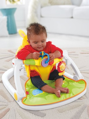 Fisher-Price Giraffe Sit-Me-Up Floor Seat with Tray