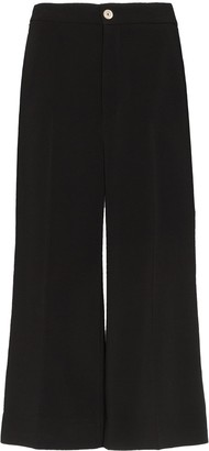 Gucci high-waisted Web culottes