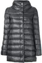 Herno Women's Grey Polyamide Down Jacket.