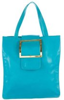 Moschino Buckle-Embellished Tote