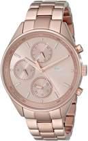 Lacoste Women's 2000867 Philadelphia -Tone Stainless Steel Watch