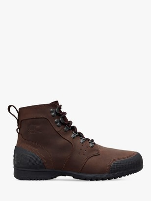 Sorel Ankeny Waterproof Mid-Rise Ankle Boots, Cattail