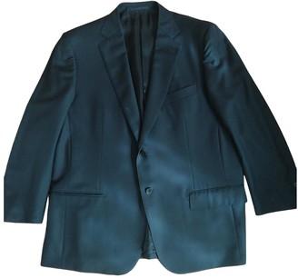 Ermenegildo Zegna Black Wool Suits