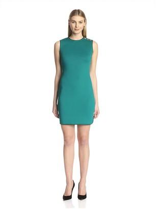 Andrew Marc Women's Sleeveless Sheath Dress