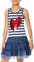 Desigual Stripe Cotton Dress