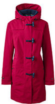 Lands' End Women's Petite Squall Duffle Coat-Classic Navy