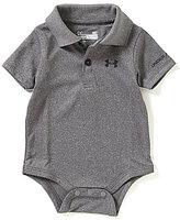 Under Armour Baby Boys Newborn-12 Months Solid Polo Short-Sleeve Bodysuit