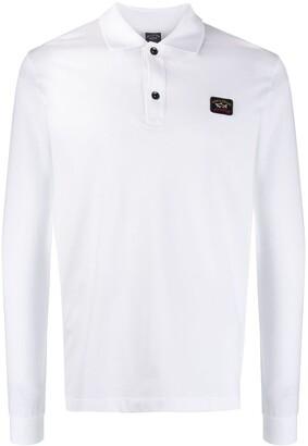 Paul & Shark long-sleeved polo shirt