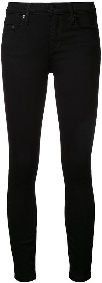 Nobody Denim Geo Skinny Ankle Luxe Black