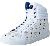 MCM Classic Visetos Men's Hi Top Fashion Sneakers Shoes