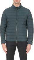 Canali zip-up quilted jacket