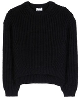 Acne Studios Hira Wool And Mohair-blend Knitted Sweater