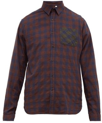 Oliver Spencer New York Special Organic Cotton-blend Shirt - Mens - Brown