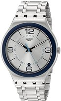 Swatch Unisex YWS413G Cycle Me Analog Display Quartz Silver Watch