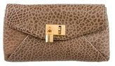 Marc Jacobs Leather Lock Clutch