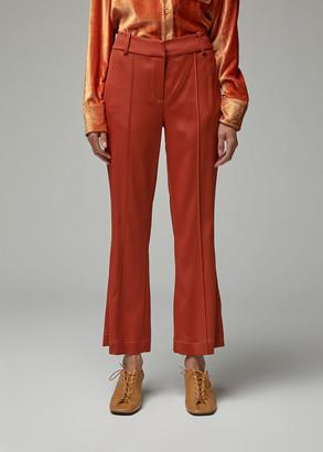 Sies Marjan Women's Danit Flare Pant in Brass Size 4