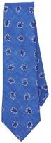 Thomas Mason Leaf Print Tie