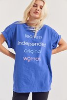 Junk Food Clothing Fearless Woman Tee