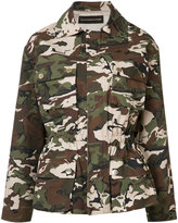 Alexandre Vauthier camouflage jacket - women - Cotton/Spandex/Elastane/Viscose - 36