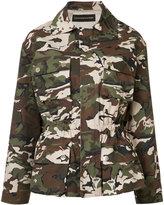 Alexandre Vauthier camouflage jacket