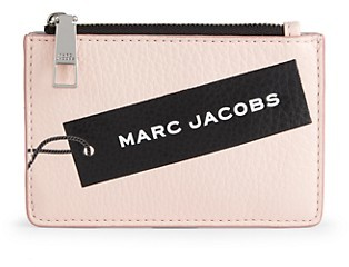 marc jacobs logo tag leather card case key ring shopstyle shopstyle