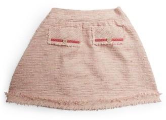 Lesy Tweed Pocket Skirt (4-14 Years)